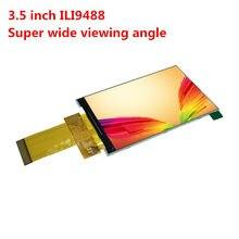 320x480 hd 3.5 polegada tft lcd tela colorida painel de toque ili9481 ili9486 ili9488 ips visão completa super ampla visual 40pin soquete