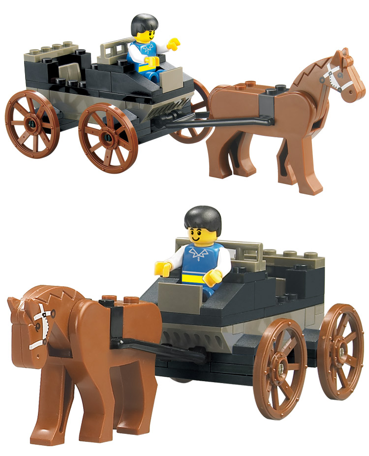 Brand Building Blocks Century Railway Station Hall fancy toy High Quality DIY Creative Educational toys for Boys Girls Wholesale