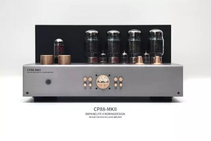 Raphaelite CP88-MKII KT88 Push-Pull Tube Amp HIFI EXQUIS Lamp Amplifier with Remote meixing mingda mc368 b kt88 push pull tube amplifier hifi exquis high power 50wx2 integrated lamp 6n8p 6sn7 amp