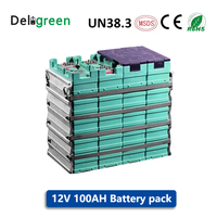 GBS 12V 100AH 3.2V LiFePO4 Battery Pack Lithium battery for electric bicycle/tool/mower/electric car/Solar energy/EV Car