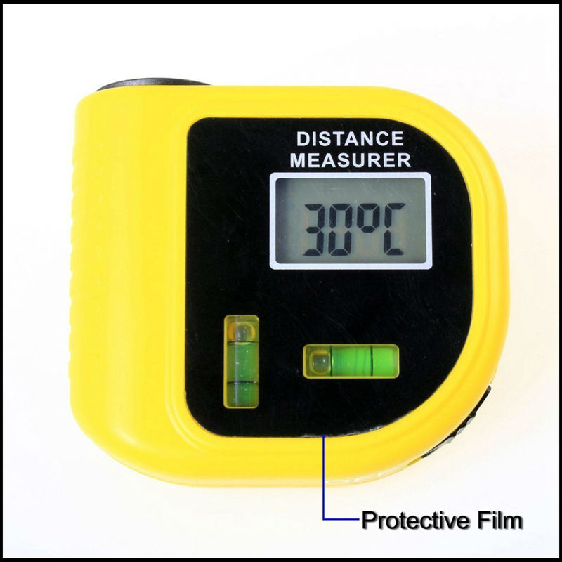 0.5~18m Handheld Laser Rangefinders Ultrasonic Distance Measurer with LCD Laser Pointer Designator Backlight Meter Range Finder [randomtext category=