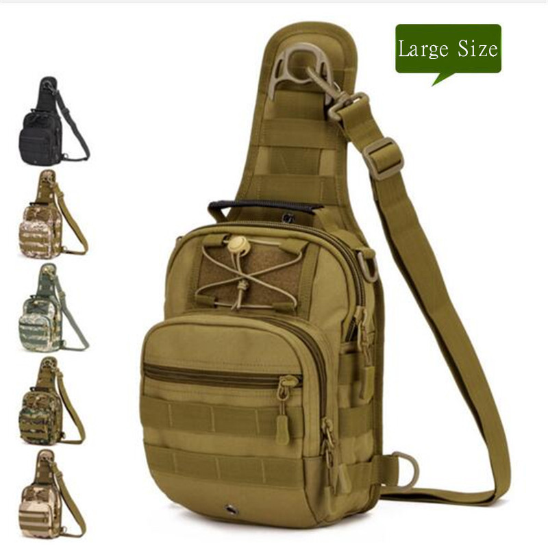 Men s bags tactics chest package ride one shoulder backpack inclined four use backpack X202 large