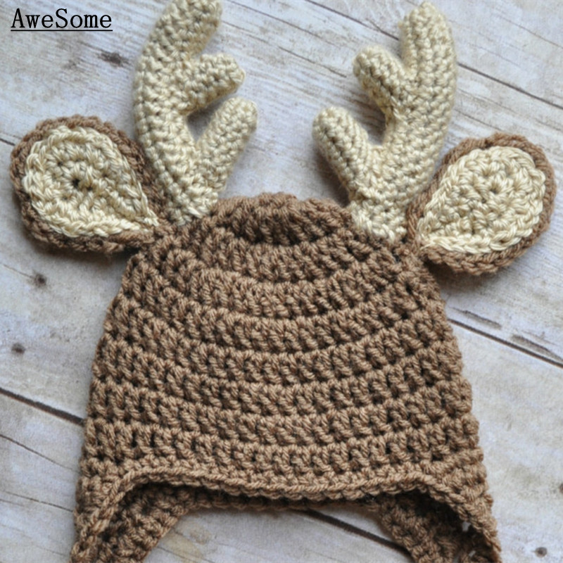 Lovely Moose Earflap Hat 296711e8200