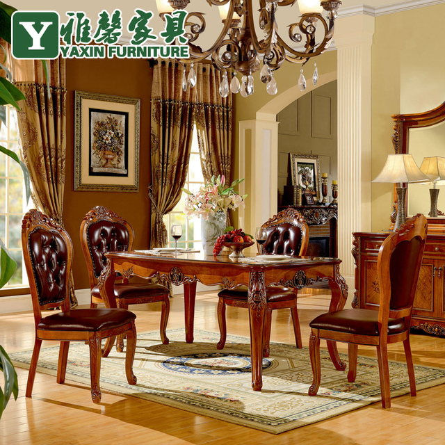 Furnitures Fashion Small Dining Room Furniture Design: Ya Xin Furniture Solid Wood Dining Table Oak Dining Table