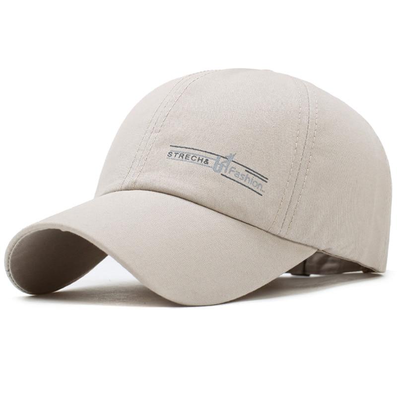 LJ104 verano hombres mujeres visera gorra de béisbol gorra Color sólido moda gorras ajustables - 4