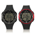Newest Outdoor Sports Watches Wireless Chest Strap Heart Rate Watches Heart Rate Monitor Watch + Chest Belt 2 PCS Set