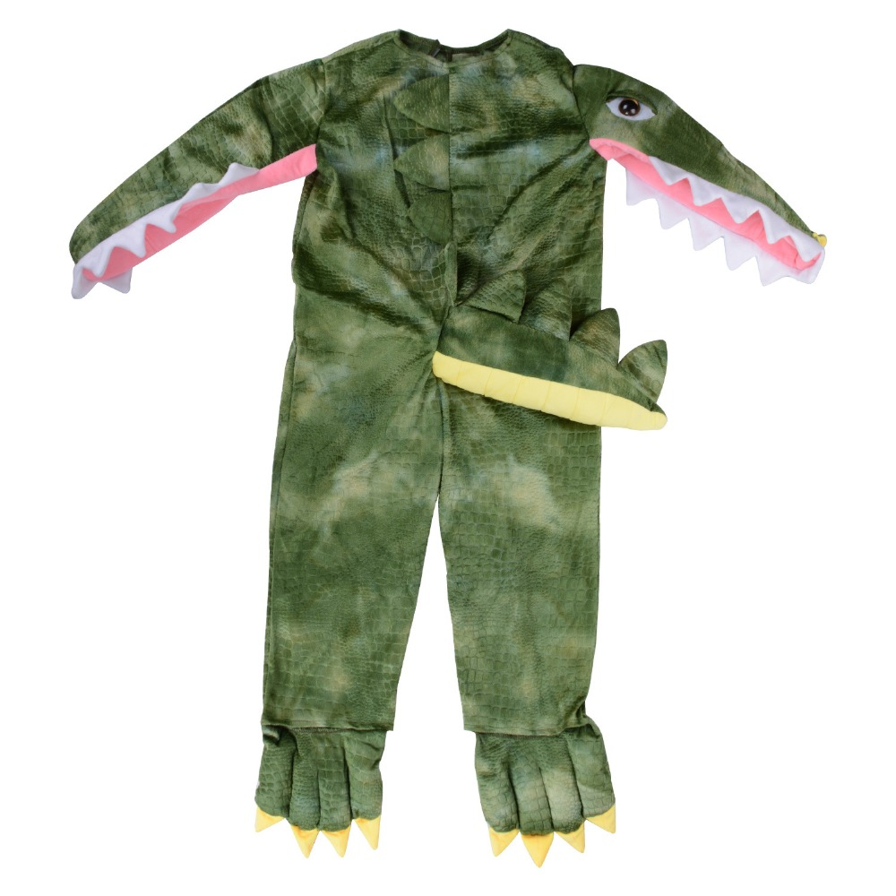 Halloween crocodile Costumes Adult children animal crocodile Cosplay clothes Stage costumes parent-child activities clothing