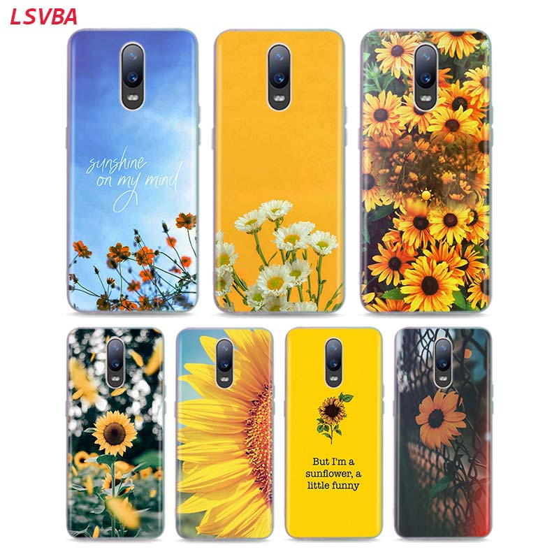 LSVAB Silicone Case Sunfowers fantasy show for OPPO Reno Z 10X Zoom F11 F9 F7 F5 A7 R9S R17 Realme 2 C2 3 Pro Phone Shell image