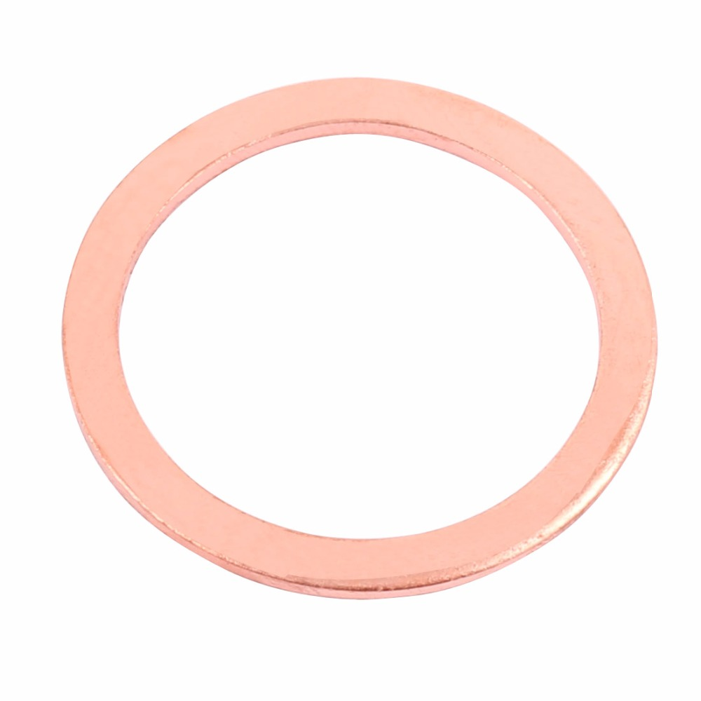 Flat Ring Copper Washer Gasket 45mm x 55mm x 1mm