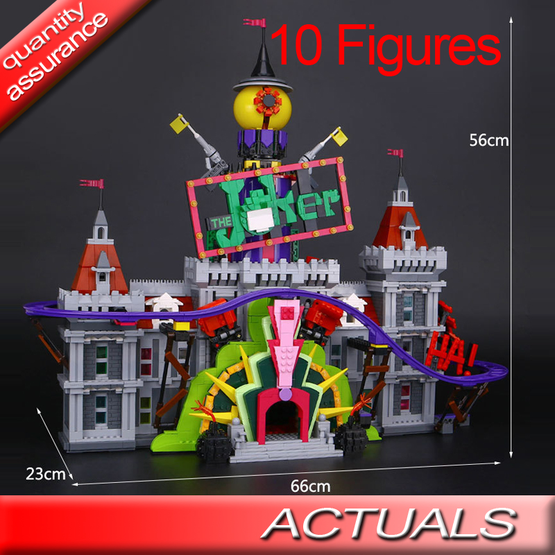 lepin 07090 batman movie 3857pcs building blocks the joker. Black Bedroom Furniture Sets. Home Design Ideas