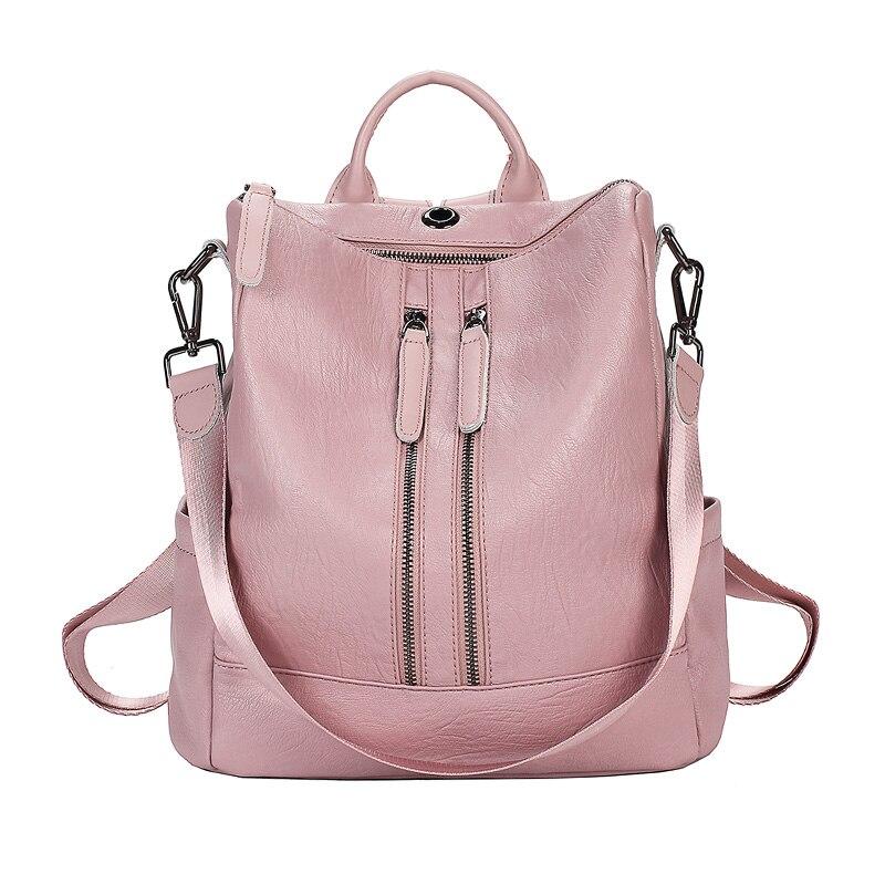 Double Zipper Pink