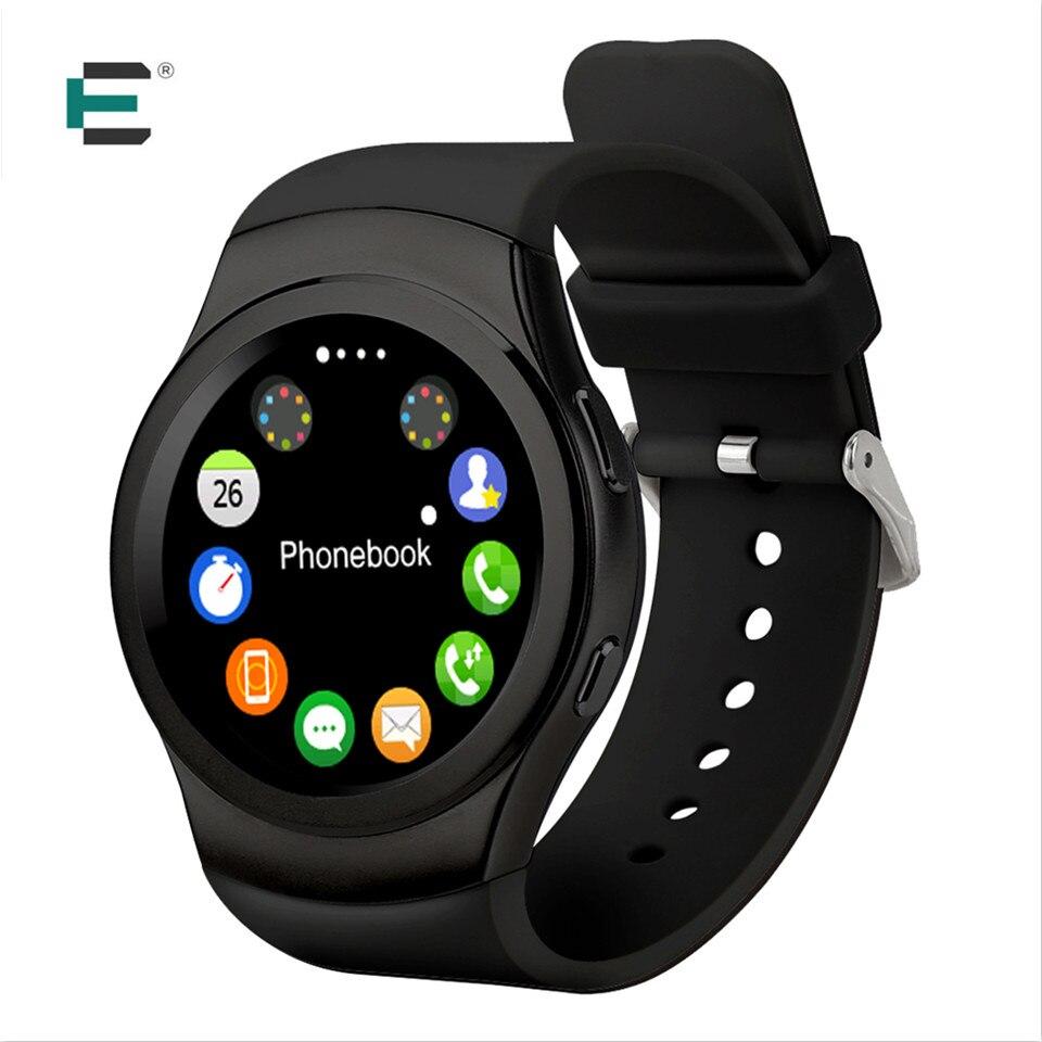 E T G3 Smart wrist Watch MTK2502C Bluetooth S2 IP65 Waterproof Smartwatch SIM heart rate monitor For iphone gear S2 PK KW18