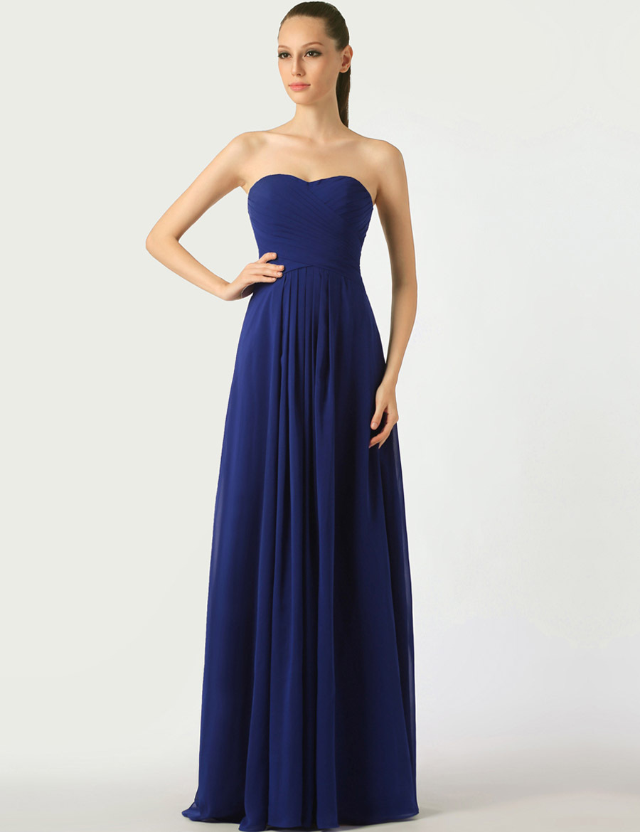 Popular Royal Blue Chiffon Bridesmaid Dresses under 100-Buy Cheap ...