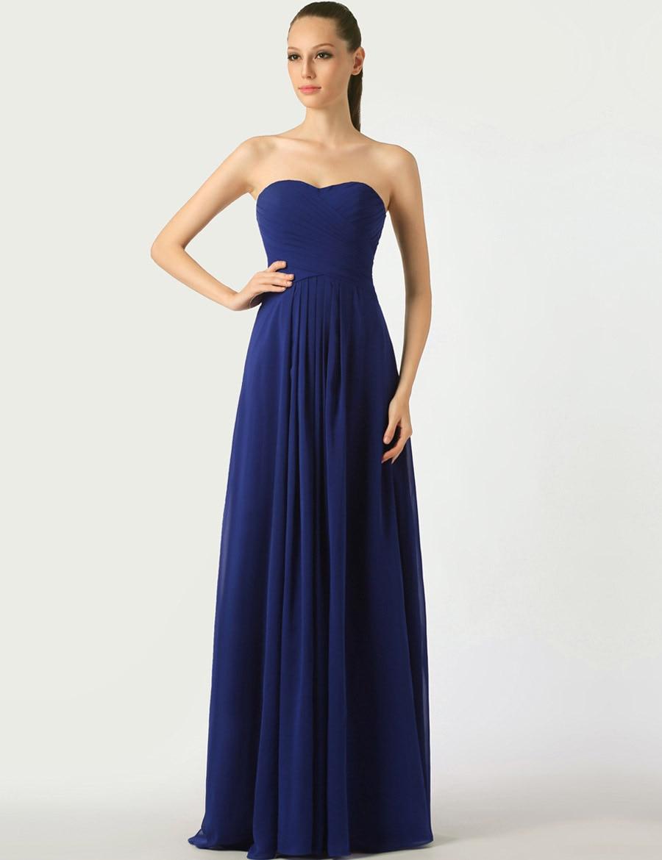 Royal Blue Bridesmaid Dresses Long - Wedding Dress Ideas
