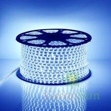 Blue Color Led Strip Light 20-100M 60 LEDs/ meter Ultra Bright 5050 SMD LED Outdoor Garden Home Strip Rope Light Waterproof
