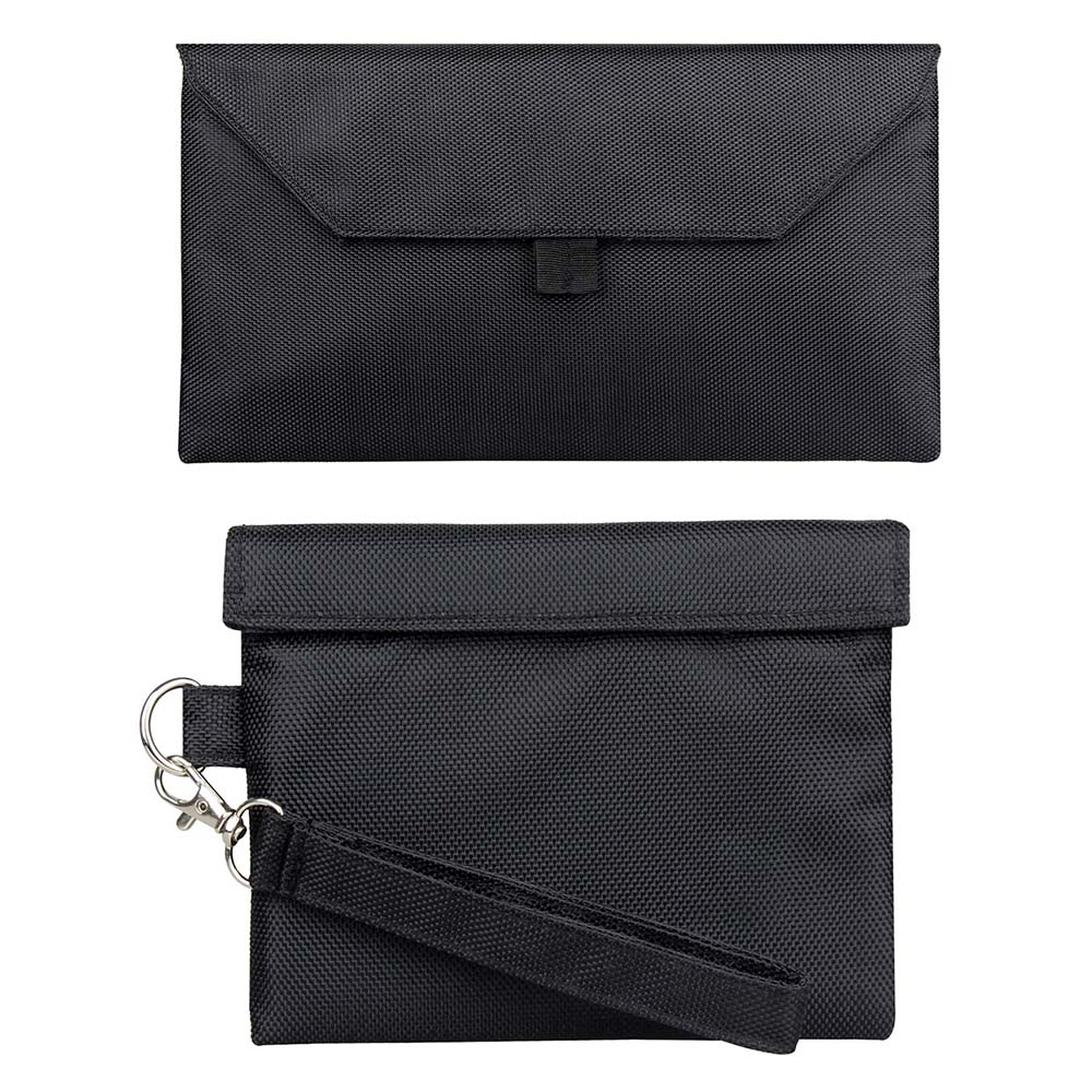 Filing Product Document Bag Carbon Lined Tobacco Pouch For Weed Herb Odor Proof Container Case Storage Smoking Smell Proof Bag