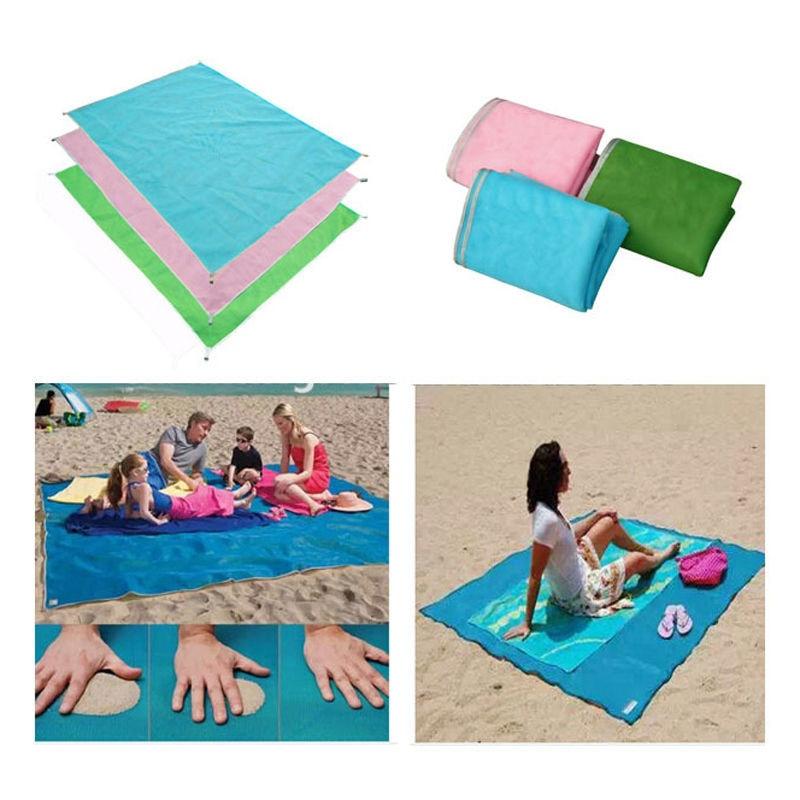 1 pc Sand Free Beach Magic Mat Outdoor Camping Picnic Large Mattress Waterproof Bags outdoor travel