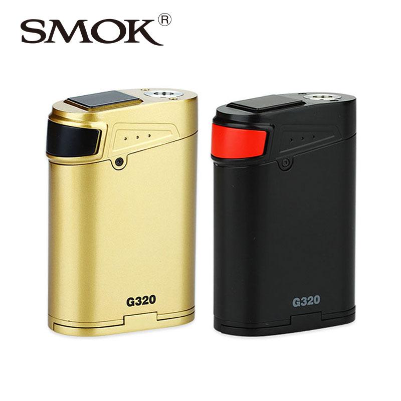 Prix pour D'origine 320 w smok g320 maréchal tc mod smoktech g320 boîte mod pour tfv8 gros bébé réservoir vs smok g-priv 220 w
