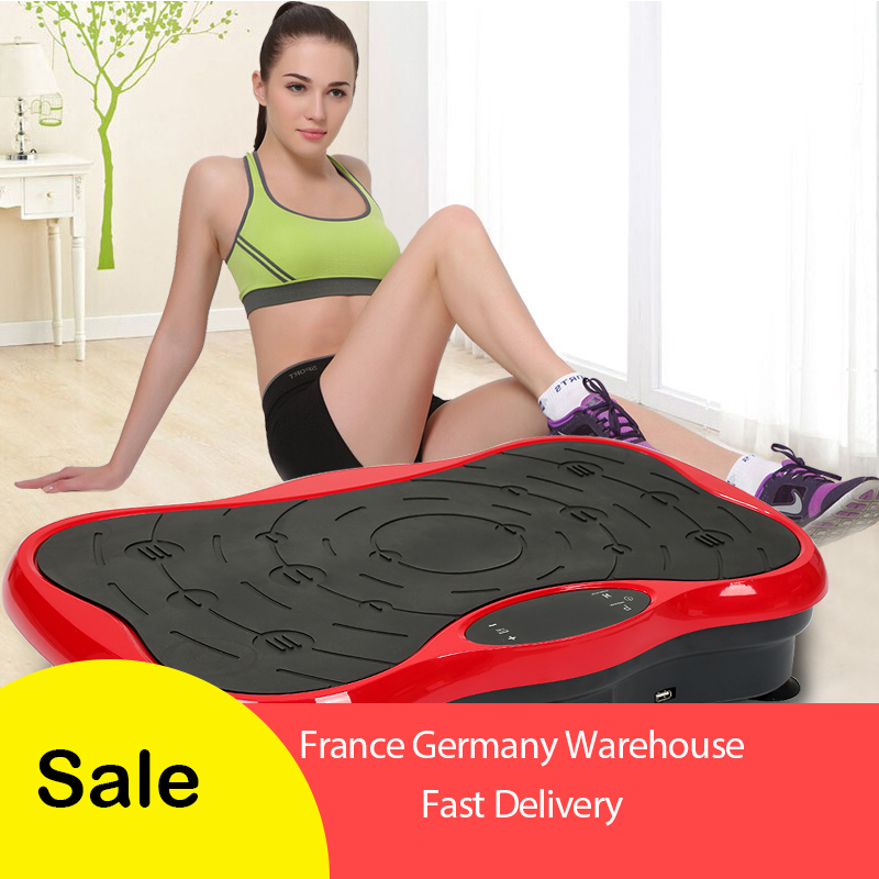 Home Vibration Fitness Massager crazy fit massager Exercise Vibration Plate Fitness Equipment Power weight loss HWC