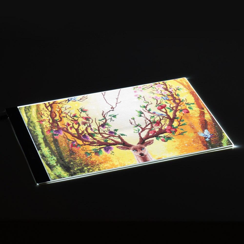 לוחות דיגיטליים Aibecy Portable A3 Led Light Pad Drawing Tracing