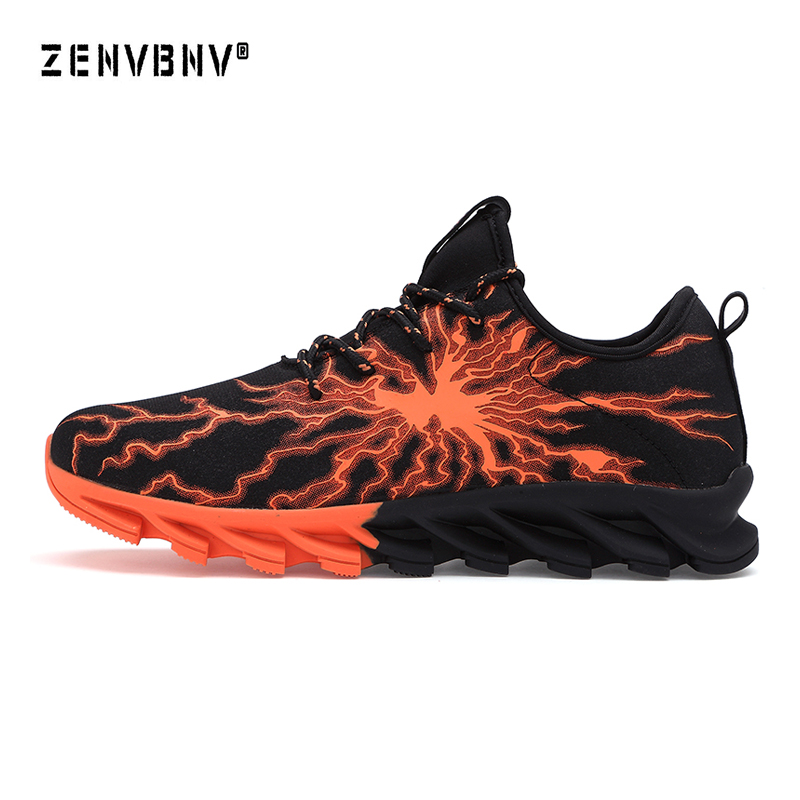 Zenvbnv 2018 New Arrival Breathable Running Shoes Men Sneakers Bounce Autumn Outdoor Sport Shoes Advanced Low Top Training Shoes
