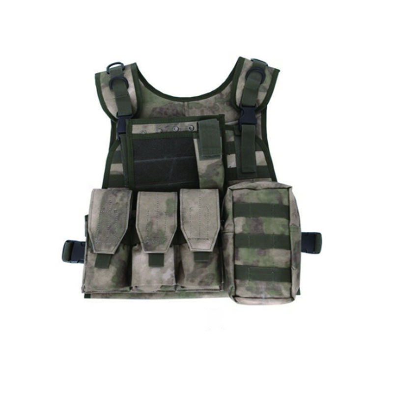 LumiParty 6 Colors Camouflage Hunting Military Tactical Vest Wargame Body Molle CS Outdoor Armor Hunting tactical Vest Equipment