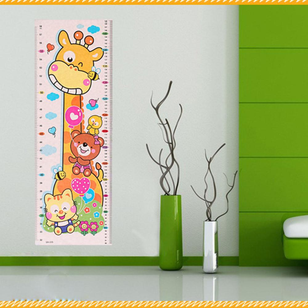 popular wall stickers baby buy cheap wall stickers baby lots from cute little animal prints pvc waterproof baby room decor growth height chart wall sticker baby wall