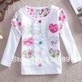 Neat (nova hermana marca) 2016 nuevo envío libre de los bebés de manga larga camisetas del bordado/impresión de la ropa de los niños desgaste de los niños
