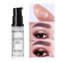 BONNIE CHOICE Eye Primer Gel Makeup Cream Liquid Smooth Fine Lines Brighten Eye Primer Eye Shadow Foundation Face Makeup Base