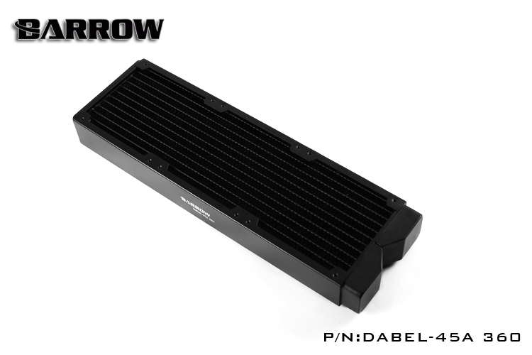 Barrow Dabel 45a Dabel 360mm 45mm Height Copper Radiator Water Cooling