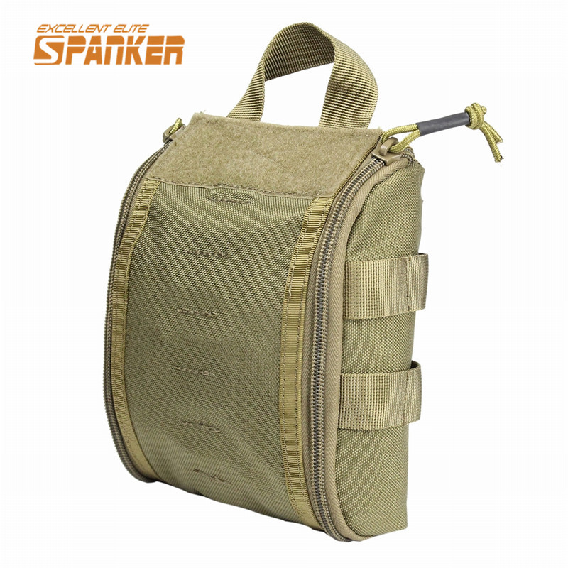 1000D Molle Tactical Medical First Aid Pouch Emergency Tool Bag Magazine Hunting Survival Utility Cycling Belt