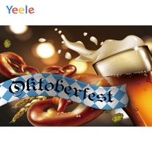 Yeele Oktoberfest Carnival Beer Wheat Wallpaper Photography Backdrops Personalized Photographic Backgrounds For Photo Studio