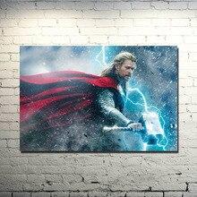 Full Square Drill DIY 5D Diamond Paintings Thor 2 The Dark World Superhero Movie Cross Stitch Embroidery Patterns Mosaic