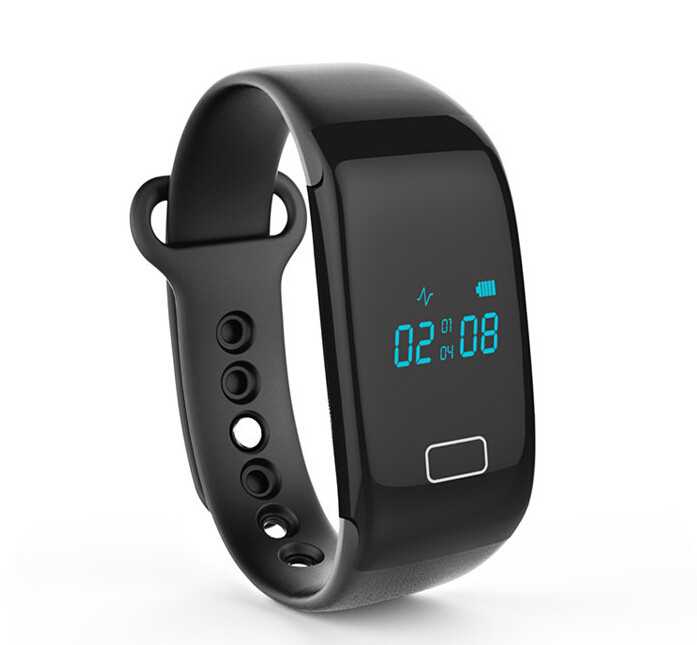 Heart Rate JW018 Smart Wristbands Touch Bracelet Bluetooth Passometer Sports Fitness Tracker for iPhone Andriod Phone