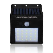 5 x20LEDs Solar Powered LED Wall Light Outdoor PIR Motion Sensor Wall Lamp  Energy Saving Lamp Home Garden Security Street Light