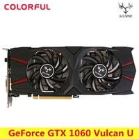 Colorful GeForce IGame GTX 1060 Vulcan U 6G Video Graphics Card 192bit GDDR5 PCI E X16