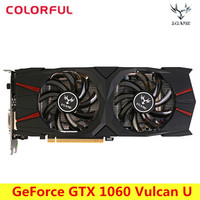 Colorful GeForce IGame GTX 1060 Vulcan U 6G Video Graphics Card 192bit GDDR5 PCI E X16