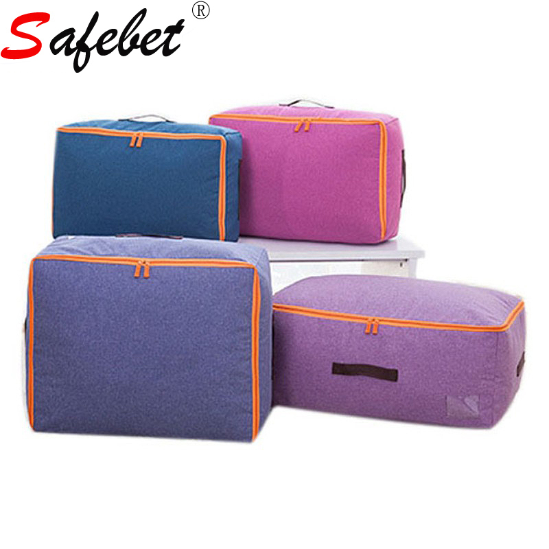 Wardrobe Clothes Quilt Foldable Storage Bags Travel Luggage Pouch Organiser Container Zipper Washable Polyester S M L XL
