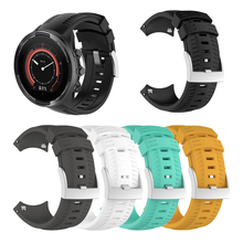 Silicone Watchband for SUUNTO 9 Smart Watch Watchbands Wrist Strap Replacement