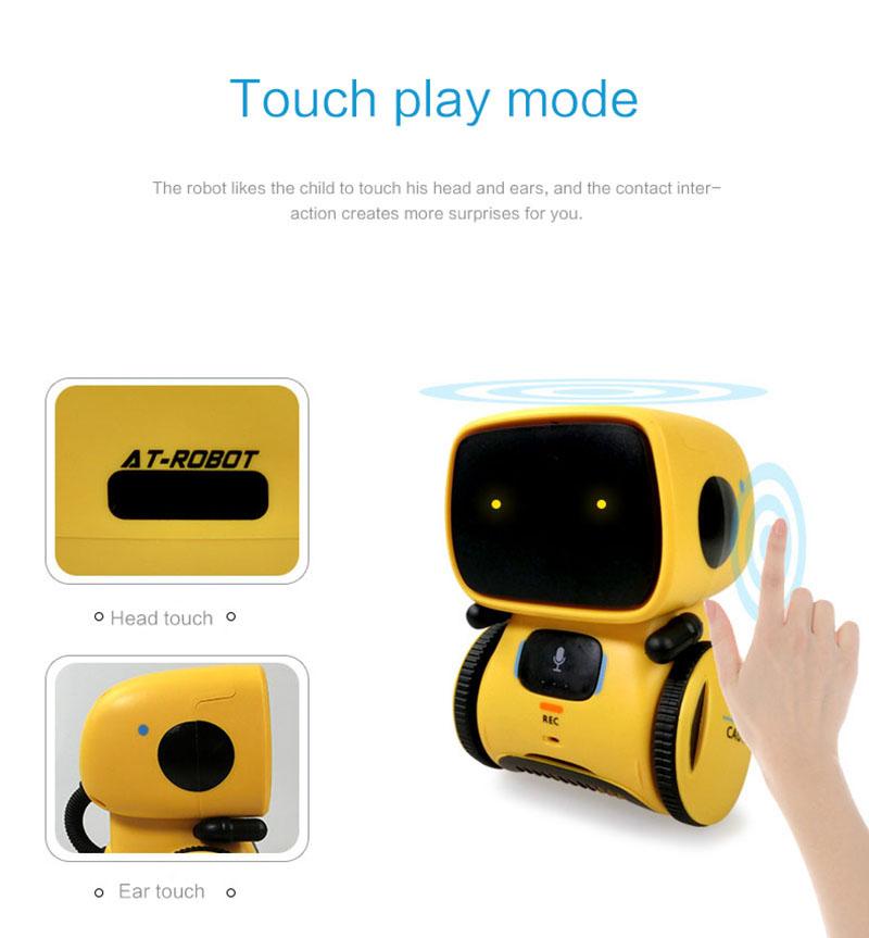 Robots for Kids Dance Voice Command Touch Control Interactive Robot Cute Toy