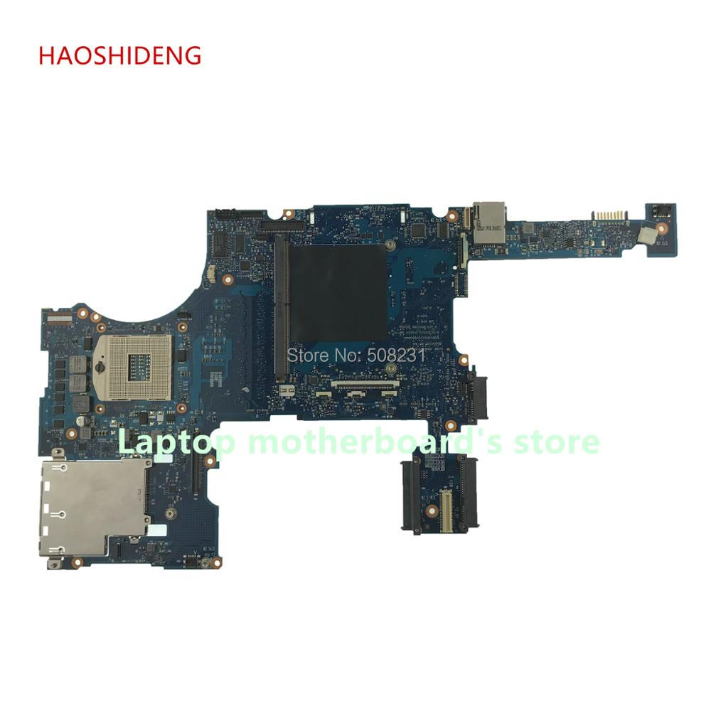 HAOSHIDENG 652508-001 For HP Elitebook 8760W series laptop motherboard QM67 All functions fully Tested hot for hp dv7 6000 series 665990 001 laptop motherboard fully tested all functions work good