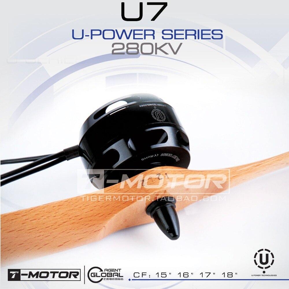все цены на T-MOTOR professional U-POWER MOTOR U7 280KV for UAV drone brushless motor онлайн
