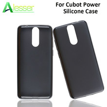 Alesser Voor Cubot Power Silicone Case Soft TPU Back Cover Anti-klop Beschermhoes Coque Voor Cubot Power Telefoon gevallen Cover(China)