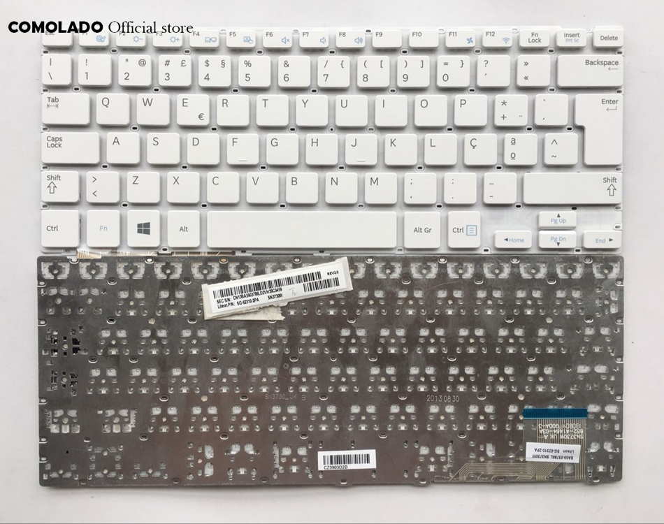 PO Portugal Keyboard for Samsung NP915S3G 905S3G NP905S3G 910S3G NP910S3G 915S3G white Laptop keyboard PO layout in Replacement Keyboards from Computer Office