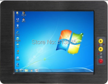 Hot sale rugged fanless design tablet PC with 6*COM &4 USB 2.0