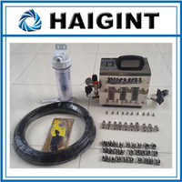 0166 Free shipping HAIGINT Watering & Irrigation Sprayers water mist cooling system1L pump misting system