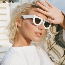 white half round sunglasses women thick frame black retro vintage sun glasses fo