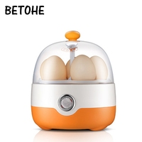 Multifunctional Mini Electric Egg Cooker Boiler Breakfast Maker Food Heating Steamer For 1 People Automatic Power Off 220V