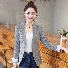 20ea8e0fad5 2018-New-Small-Plaid-Suit-Women-Blazer-Korean-Version-Short-Style -One-Button-Spring-Autumn-Wear.jpg 220x220.jpg