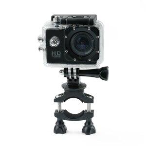 Image 4 - 자전거 자전거 충격 흡수 핸들 바 마운트 홀더 어댑터 오토바이 클립 지원 브래킷 Gopro 영웅 Xiaomi 이순신 4K 카메라